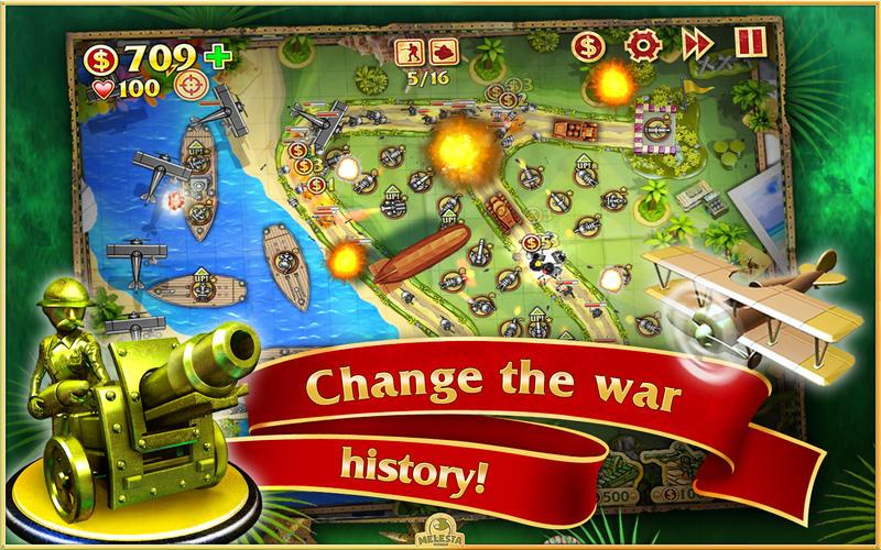 Toy Defense. World War I Screenshot - 2