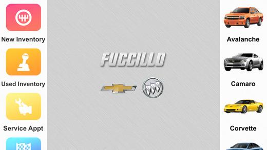 Fuccillo Chevrolet Buick Dealer App