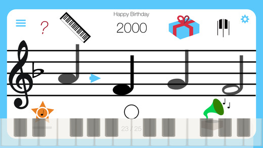 Note Challenge - The easy and fun music teaching app learn how to play instruments and basic notatio