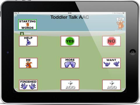 Toddler Talk AAC