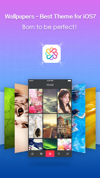 Wallpapers - Best Theme for iOS7