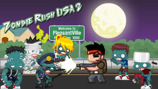 Zombie Rush USA 2 - Zombieville USA edition