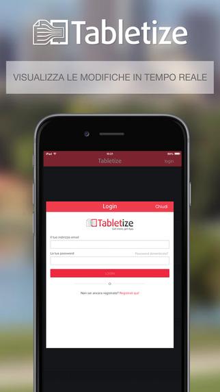 Tabletize Get more Get App.