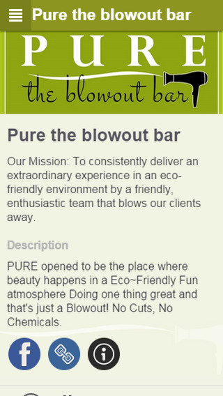 Pure the blowout bar