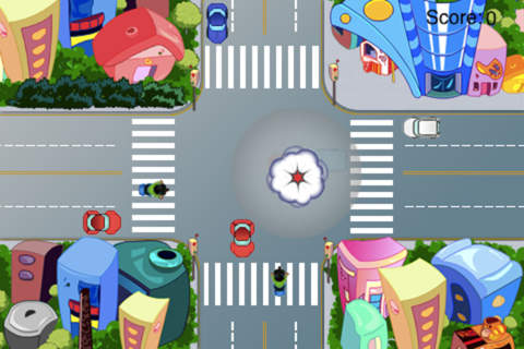 Car Traffic Control - A Cross Road Challenge screenshot 2