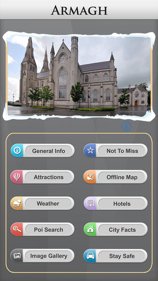Armagh Offline Map Travel Guide