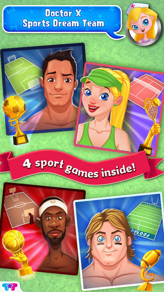 Sports Dream Team - Doctor X Play Care for Players
