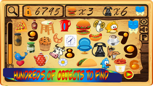 Find Objects Game