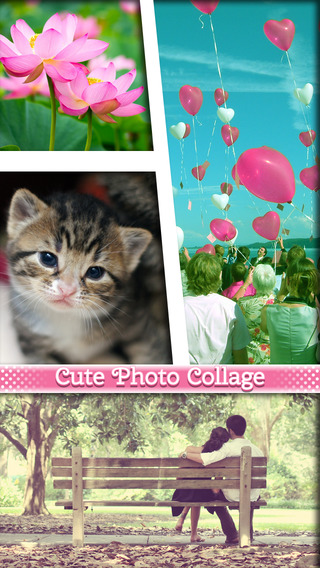 Cute Photo Editor Collage Maker – Insta Pic Frames Image Makeover