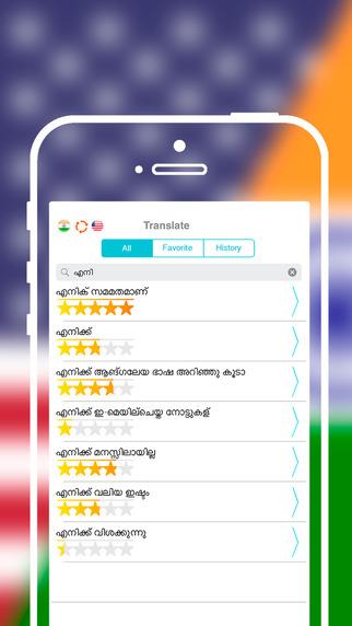 Malayalam, Offline, Description, Definition