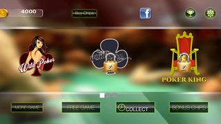 Screenshot 3 Туз Дикий Люкс Видео-Покер — игры в карты на двоих казино гранд