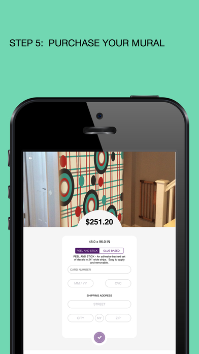 Wall mural on the app store for Picture on wall app