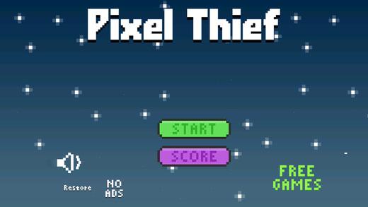 Pixel Thief - Sneaky Diamond Bandit