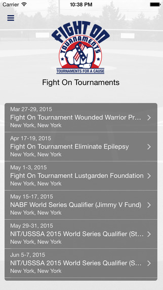 Fight On Tournaments
