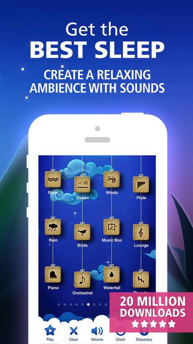 Screenshots of Relax Melodies: Sleep zen sounds & white noise for meditation, yoga and baby relaxation for iPhone