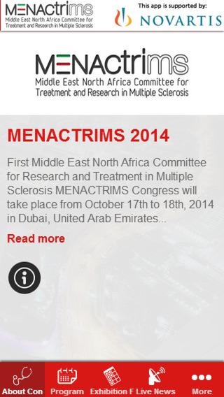 MENACTRIMS 2014