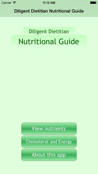 Diligent Dietitian Nutritional Guide