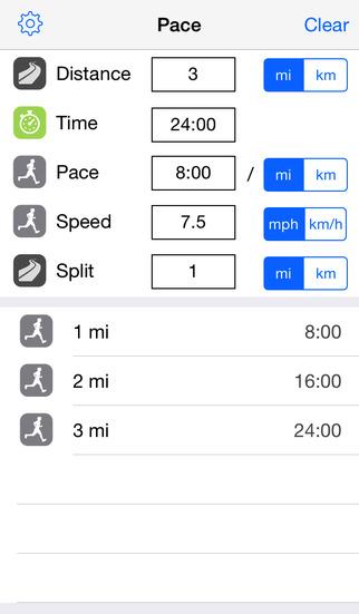 Running Pace