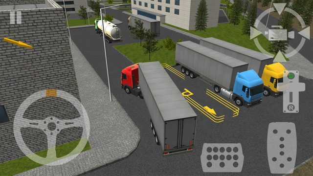 Semi Driver: Trailer Parking 3D
