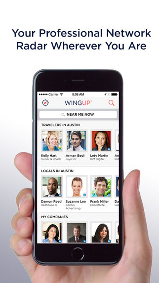 WingUp - Your Professional Network Radar