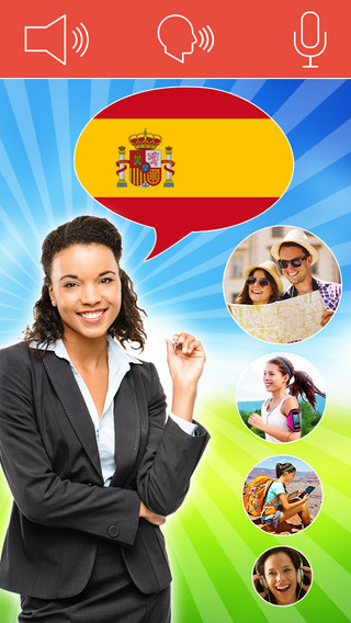 Speak Spanish FREE - Interactive Conversation Course - learn a language with Mondly: vocabulary less