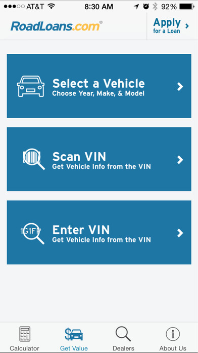 RoadLoans.com Car Loan Calculator iPhone Screenshot 2