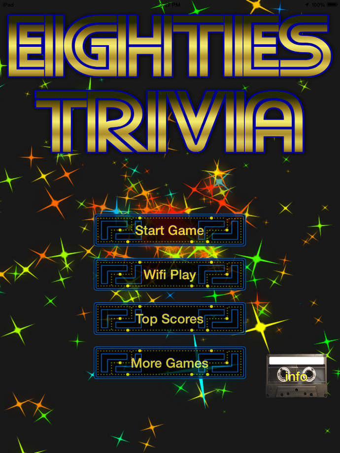 80's Trivia - iPhone Mobile Analytics and App Store Data