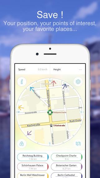 Berlin Offline Map : Maps In Motion Screenshots