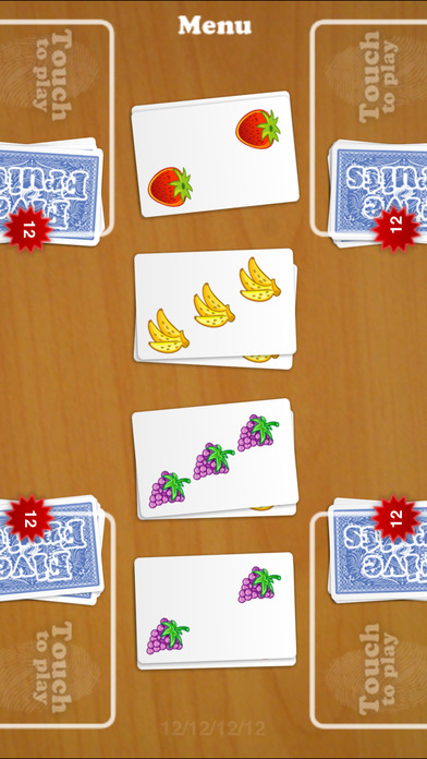 Five Fruits: Multiplayer Battle iPhone Screenshot 1