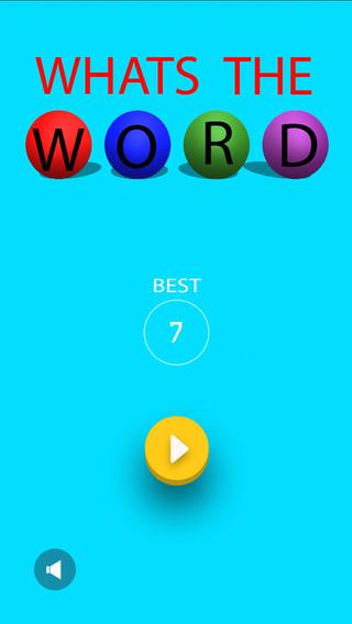【免費遊戲App】Whats The Word: FOUR LETTERS-APP點子