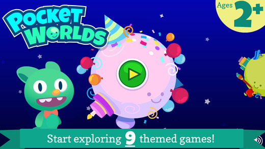 Pocket Worlds - Fun Education Games for Kids