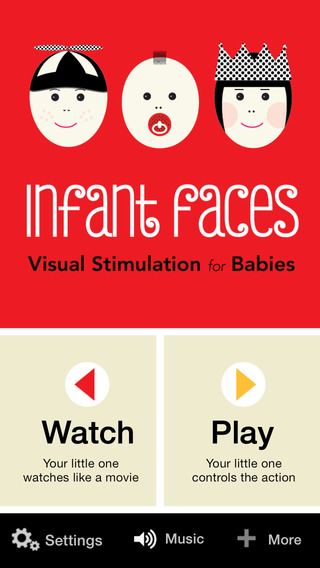 Infant Faces : High Contrast Visual Stimulation for Babies
