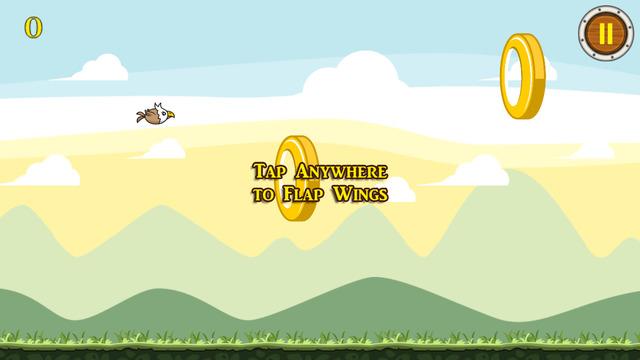 Flappy Eagle Run – The Real Flying Skill Bird Race