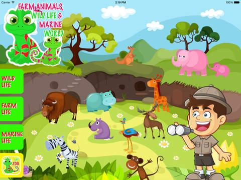 Farm Animals Wild Life Marine World