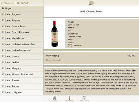 Antique Wine iPad Screenshot 1