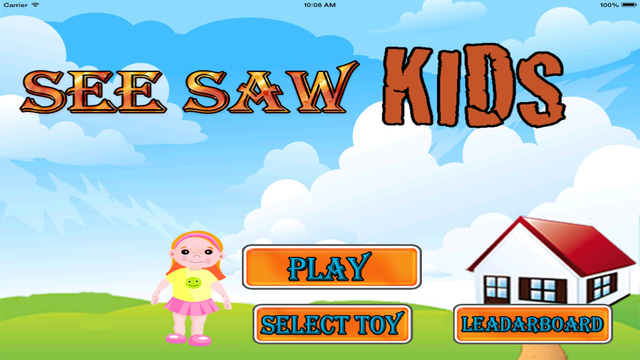 Seesaw Kids- Cool Game for iPad and iPhone