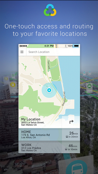 Urban Engines: real-time transit schedules offline maps routing for bus train metro