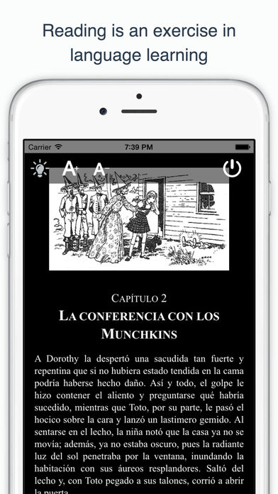 Spanish reading and audio books for beginners on the app store for Audio libro el jardin secreto