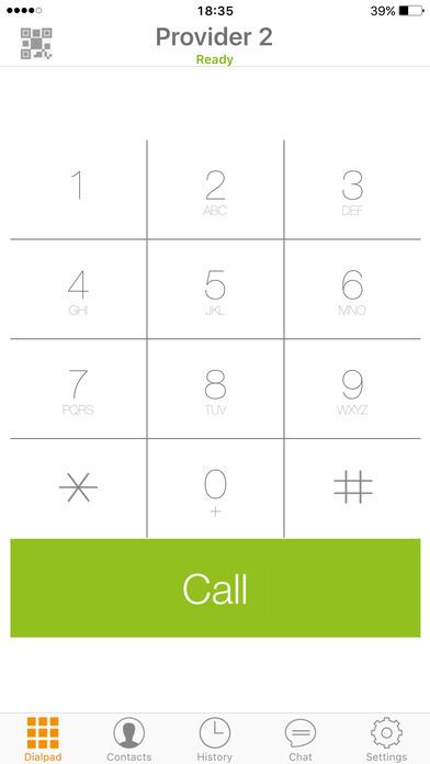 Zoiper Premium SIP softphone - for VoIP phone calls with video Screenshots
