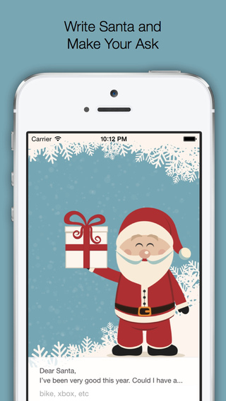 Text to Santa: Christmas Wishlist Creator for Kids of All Ages