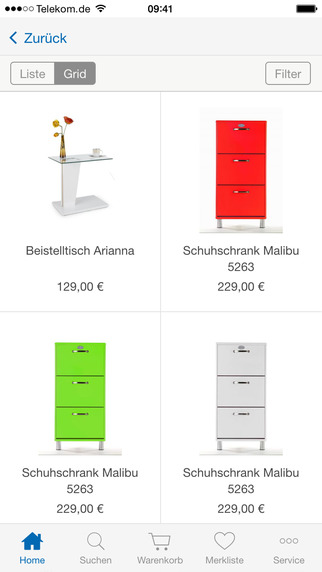 m bel bei ostermann online kaufen alles. Black Bedroom Furniture Sets. Home Design Ideas