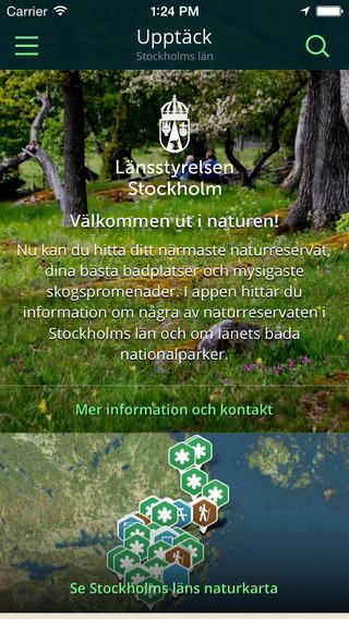 Stockholms läns Naturkarta