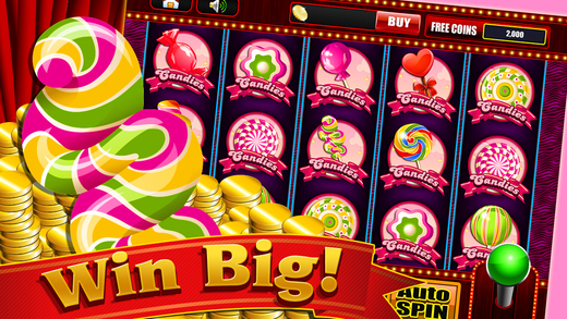 Vegas Candy in the Land of Sugar Mania - Lucky Casino Slots Game Free