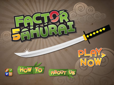 Factor Samurai - Multiply and Divide your way to Times Tables Mastery Screenshots