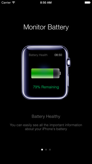 Battery Heath - Save time glance at your iPhone battery instantly