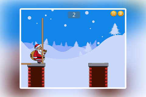 Santa Chimney Overcome screenshot 1