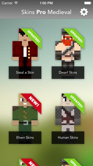 Skins Pro Medieval for Minecraft - The Original Medieval Collection for Minecraft