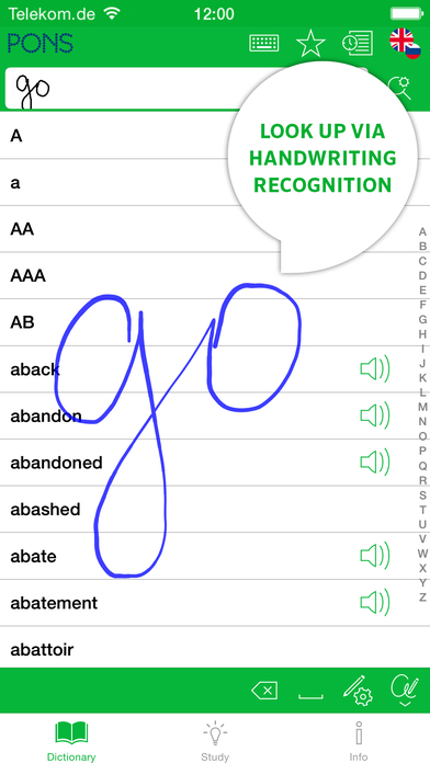 PONS Compact English <-> Russian Dictionary iPhone Screenshot 2