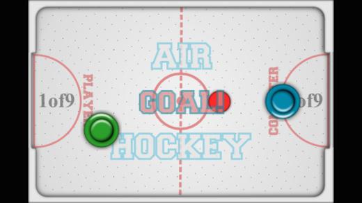 Pocket Air Hockey - Arcade Table Ice Ball Hit