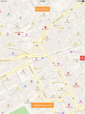 Spot My Car – Navigate Back To Your Car